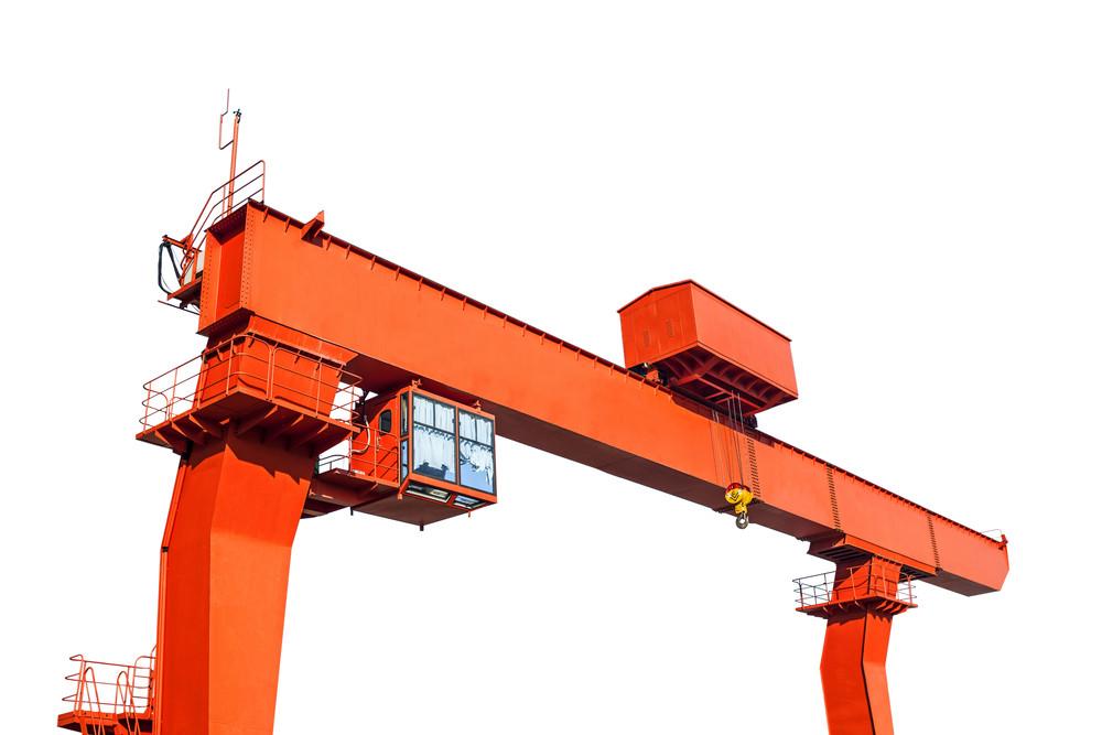 Anti-slip for crane heavy equipment