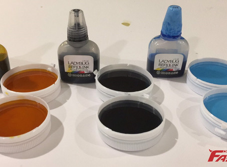 What is going to happen when add the  alcohol inks in FASTFIX epoxy crystal glue?