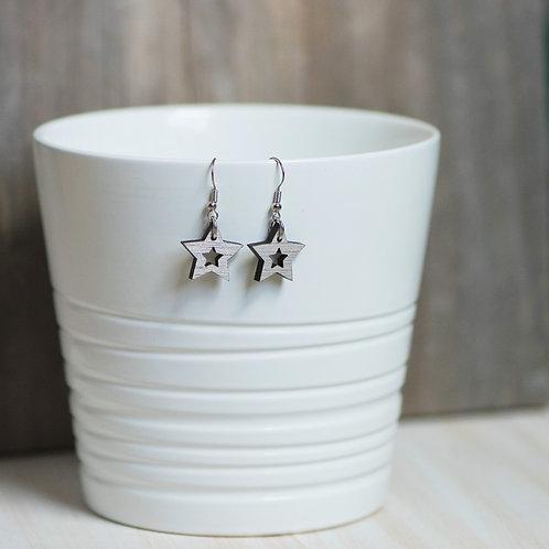Single Star Cutout Earring
