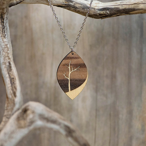 Layered Tree Necklace