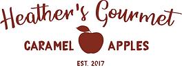 Heather's Gourmet Caramel Apples- logo.p