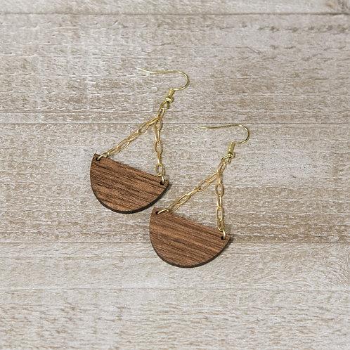 Chandelier Earring- Gold