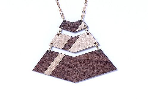 Chevron Stripe Necklace
