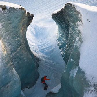 Séracs mer de glace