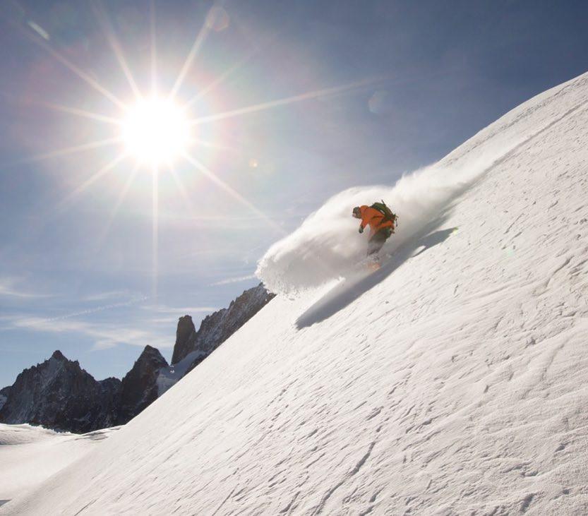 vallée blanche snowboard