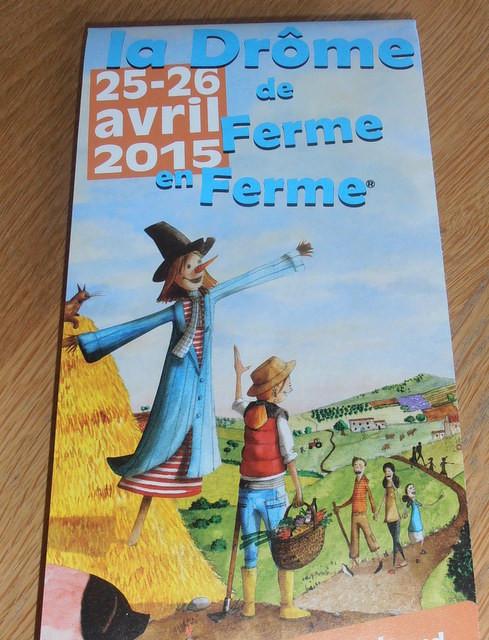 Kom logeren en ontdek de Drôme Provençale, neem deel aan het circuit De Ferme en Ferme.