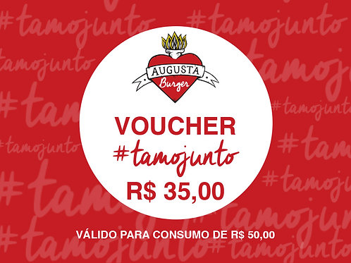 VOUCHER #TAMOJUNTO R$ 35,00