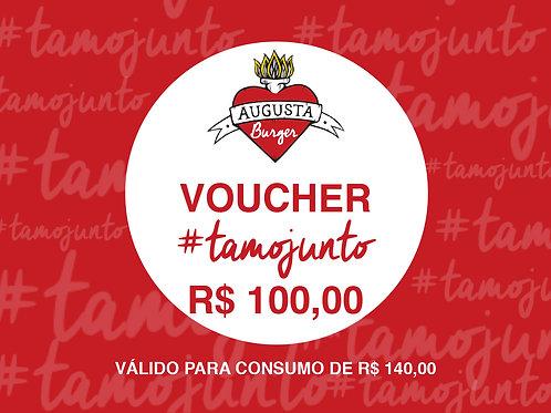 VOUCHER #TAMOJUNTO R$ 100,00