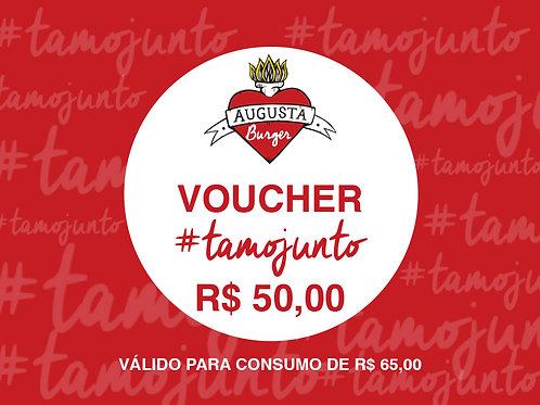 VOUCHER #TAMOJUNTO R$ 50,00