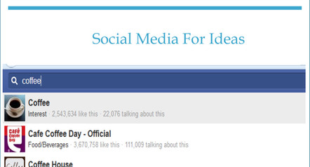 How to Use Social Media For Ideas