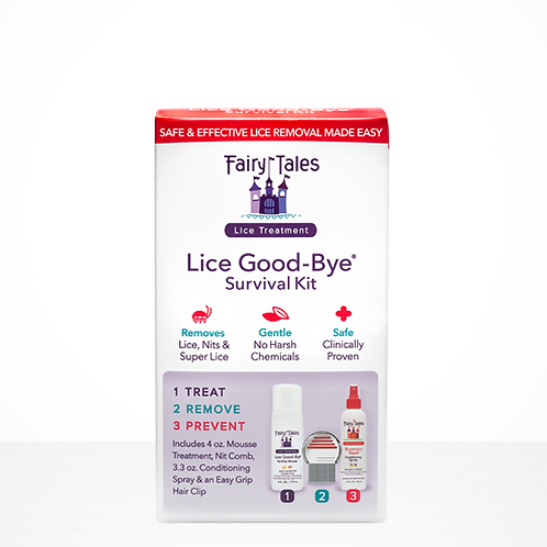 Fairy Tales Lice Treatment 4 oz