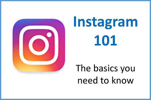 Instagram Basics 101