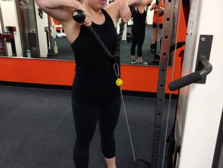 Fit Friday Spotlight Caitlin Dickey: Receives Benefit from Group Training