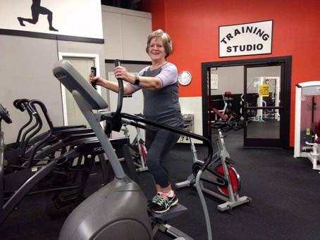 Fit Friday Spotlight Sue Burkhartzmeyer: Doing the Work to Age Strong