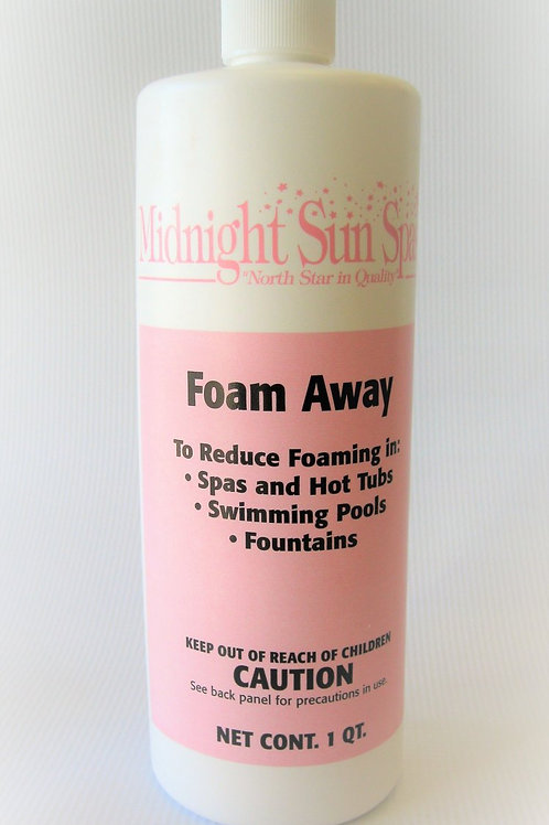 Foam Away - Midnight Sun Spas