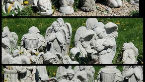 Memorial Statues at Nagels Nursery in Minnesota