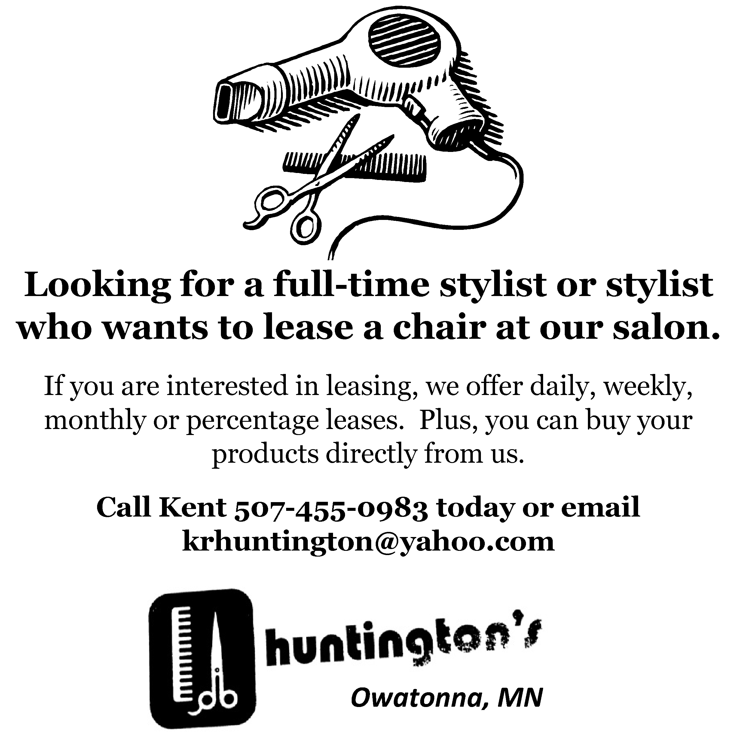 Huntingtons ad