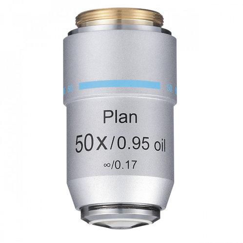 50xR Oil Infinity Plan Achromat Objective