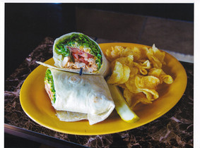 Buffalo Chicken Wrap James Gang Northfie
