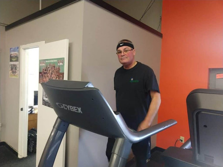 Fit Friday Spotlight Dan Hunt: Committed to Cardio!