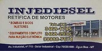 Injediesel Retifica de Motores Água Boa Mt