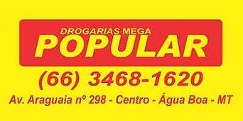 Drogaria Mega Popular Água Boa MT