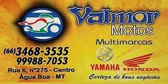 Valmor Motos Multimarcas Água Boa Mt