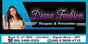 Diana Fashion Água Boa MT