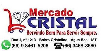Mercado Cristal Água Boa Mt