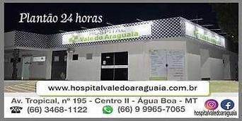 Hospital Vale do Araguaia Água Boa Mt