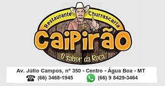 Restaurante Churrascaria Caipirão Água Boa MT