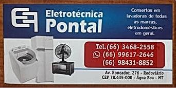 Eletrotécnica Pontal-portalnetshopping-agua boa-mt