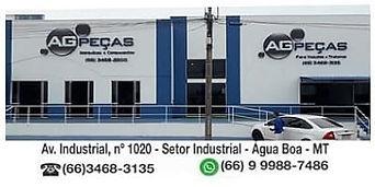 AG Peças Água Boa Mt