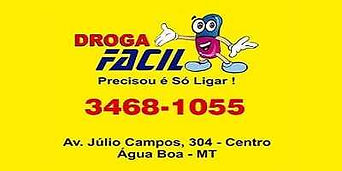Farmácia Droga Fácil Água Boa MT