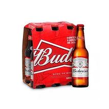 Cerveja Budweiser 343ml - Caixa com 6 un
