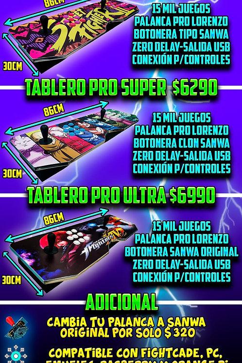 TABLERO PRO SUPER + 2 CONTROLES ACTECK + ENVIO