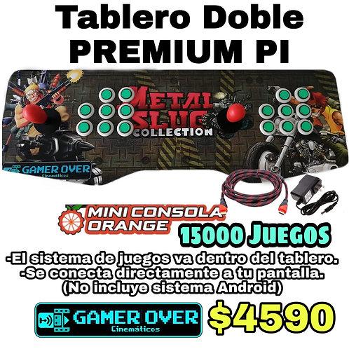 TABLERO PREMIUM PI + 2 GAMEPAD ALAMBRICOS + PEDESTAL