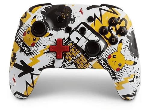Control Joystick Inalámbrico Nintendo Switch Grafiti Pikachu