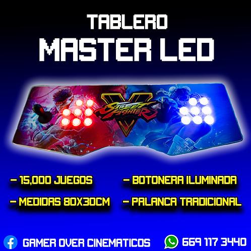 TABLERO MASTER LED + 2 CONTROLES ACTECK
