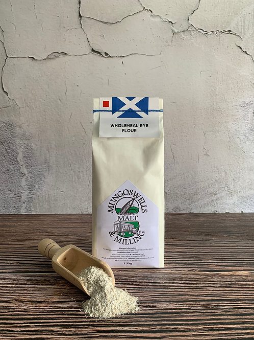 Farm Milled Wholemeal Rye Flour