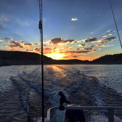 Blue Mesa Reservoir Sunrise