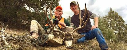 trophy mule deer hunting colorado
