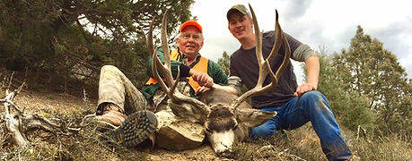 trophy mule deer hunting colorado