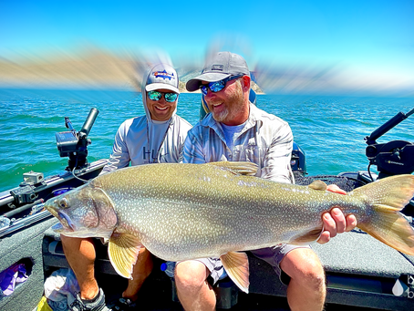 Blue Mesa Reservoir Lake Trout Fishing with Colorado Fishing Expeditions