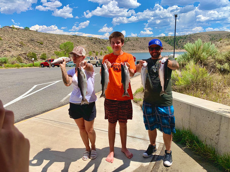Blue Mesa Reservoir Fishing Report 8/2