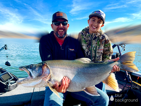Lake Trout Fishing on Blue Mesa Reservoir with Colorado Fishing Expeditions