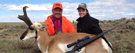 guided antelope hunts