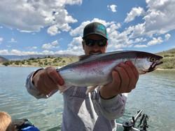 Big Kokanee Salmon