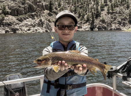 Colorado fishing guide | Blue Mesa Fishing trips