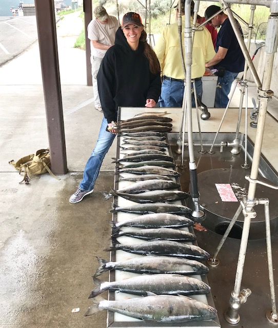 Kansas family slayed the salmon